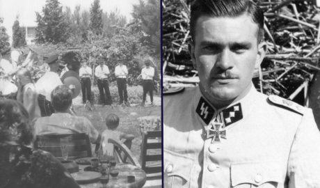 Les festes d'aniversari amb magnificència d'un nazi refugiat a Dénia