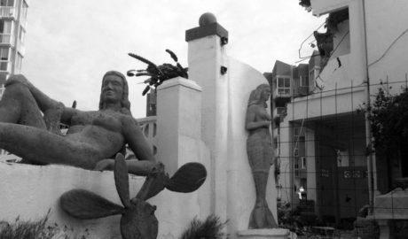 Calp bloquea la licencia de obras en Casas Neptuno a la espera de que informe Patrimonio