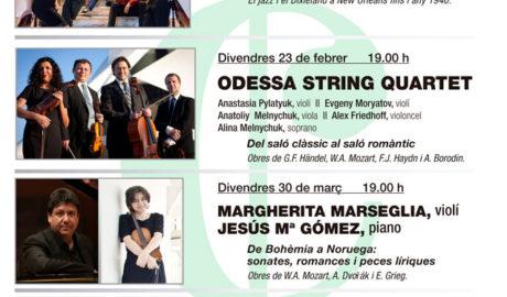 Concierto de Odessa String Quartet & la soprano Alina Melnychu. Festival Dénia Clàssics -Dénia-