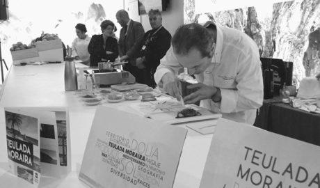 El showcooking del chef Manuel Alonso muestra en Fitur la esencia de Dolia