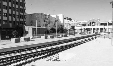 Así luce la 'nueva' estación del trenet en Dénia