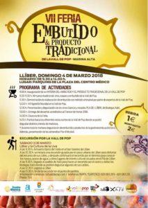 VII Fira de l'Embotit i el Producte Tradicional -Llíber- @ plaza del Centro Médico, Llíber, Vall de Pop