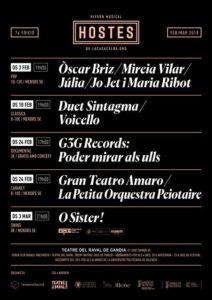 Festival Hostes, Cabaret: concert de Gran Teatro Amaro i La Petita Orquestra Peiotaire -Gandia- @ Teatre del Raval, Gandia | Gandia | Comunidad Valenciana | España
