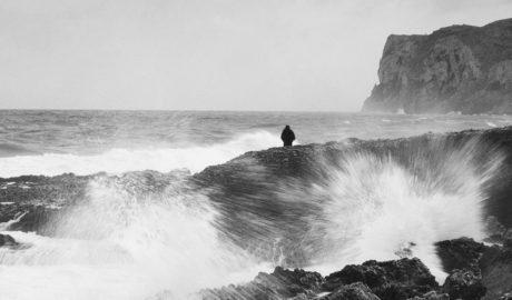 La foto del temporal en les Rotes de Dénia
