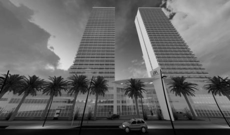 Compromís recurrirá contra el nuevo hotel de las dos torres de Calp al detectar exceso de edificabilidad