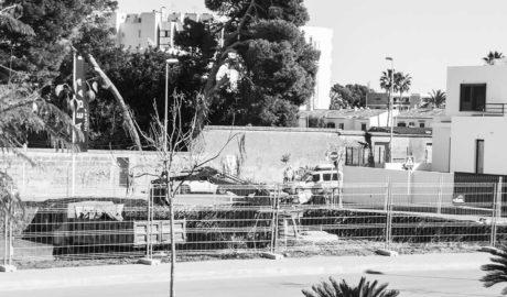 La construcción vuelve a ser el sector que más crece en número de nuevas empresas y trabajadores en la comarca