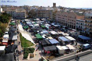 Mercadillo de Xàbia @ plaza de la Constitució, Xàbia