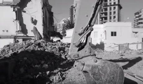 ACEC alerta a la Guàrdia Civil del perill que corren les restes romanes baix les Cases Neptú de Calp