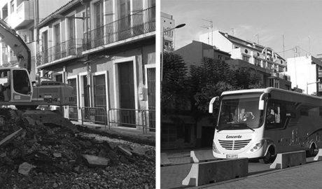 Los coches vuelven a La Via de Dénia con las obras de Colón