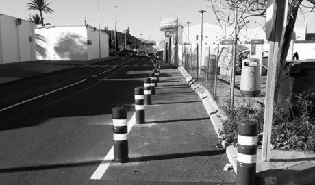 Dénia habilita un pas de vianants en el tram del Camí del Cementeri recentment reurbanitzat
