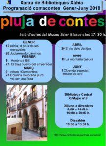 'Pluja de contes': sessió de contacontes -Xàbia- @ Saló d'actes del Museu Arqueològic i Etnogràfic Soler Blasco de Xàbia