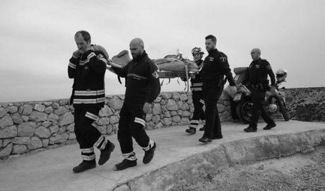 Rescatan a una mujer con heridas leves tras una caída de 2 metros en la Torre del Gerro