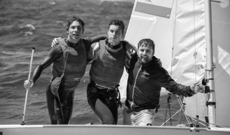 Los xabieros Enrique y Pablo Luján, campeones del mundo de vela Clase 420