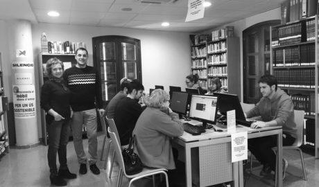 Ondara incorpora nous ordinadors a la biblioteca municipal