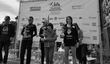 Raquel Solivelles emula a Cecilia Salvà y son las dos únicas benisseras que han acabado un maratón