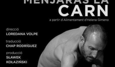 Teatre amb fins solidaris: Pego acull l'estrena de l'obra 'Menjaràs la carn'