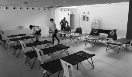 Xàbia instala un albergue para personas sin hogar ante la ola de frío