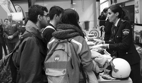 Más de 750 alumnos de ESO y Bachiller de Dénia visitan estos días la Feria del Estudiante