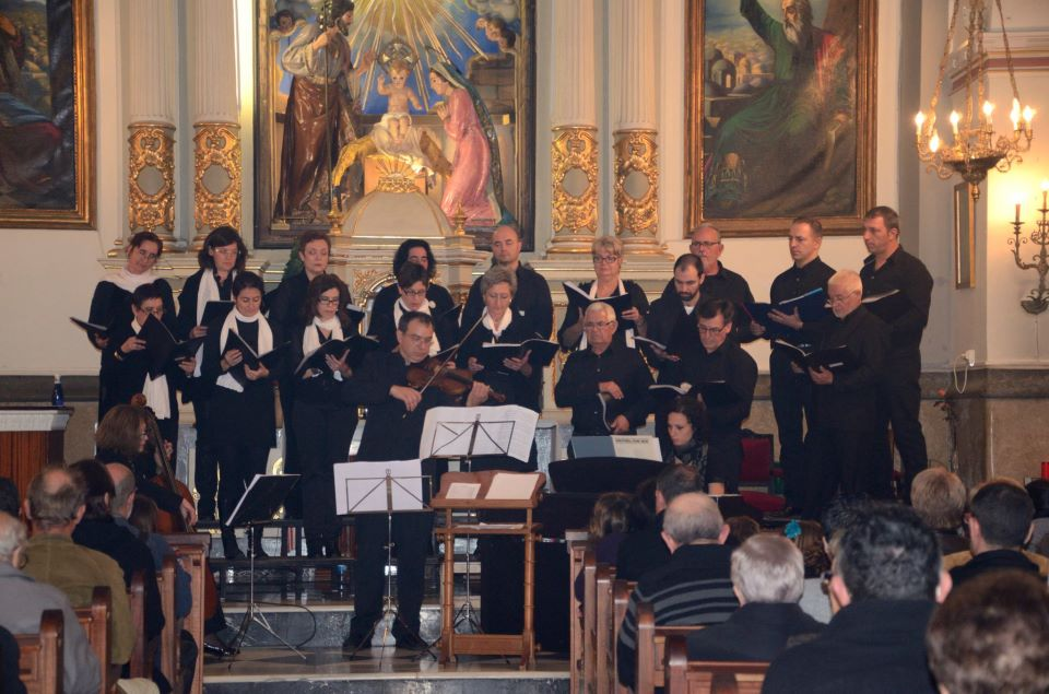 Concierto de la Coral Benissenca y la Coral d'Orba. XXX Aniversario del Cor d'Orba -Orba- @ Iglesia de Orba