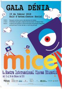 Mostra de Internacional de Cinema Educatiu 2018, MICE -Dénia-