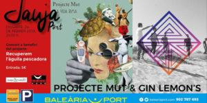 Concert benèfic de Projecte Mut & Gin Lemon's -Dénia- @ Jauja, Baleària Port, Dénia