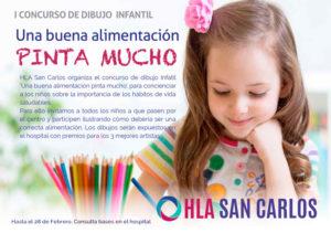 Participa en el I Concurso de Pintura Infantil HLA San Carlos: 'Una buena alimentación pinta mucho' -Dénia y Xàbia- @ HLA San Carlos Dénia | Denia | Comunidad Valenciana | España