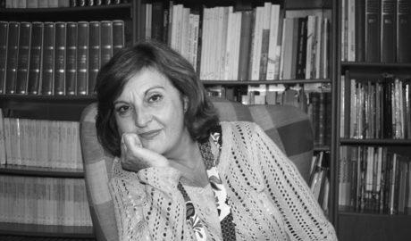 Pepa Guardiola, en la Biblioteca Valenciana