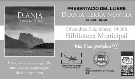 Teulada acull la presentació del llibre 'Diània, terra nostra', un viatge fotogràfic per les muntanyes