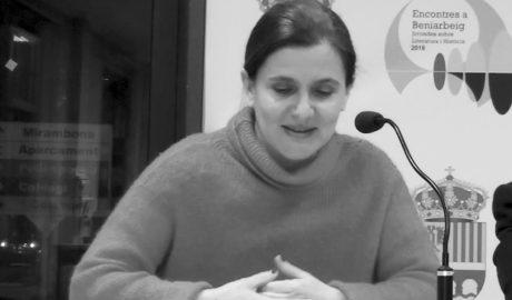 La filòloga eslovena Simona Škrabec enceta els Encontres a Beniarbeig 2018