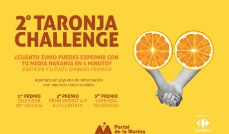 Portal de la Marina vive San Valentín con la 2ª edición del Taronja Challenge