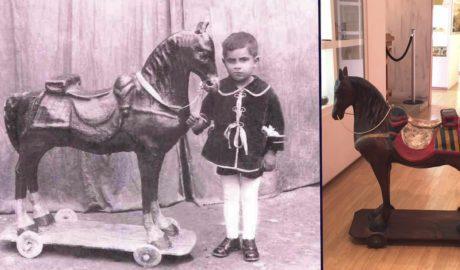 Las historias que escondía un caballo de juguete de 1915 que ahora expondrá Dénia