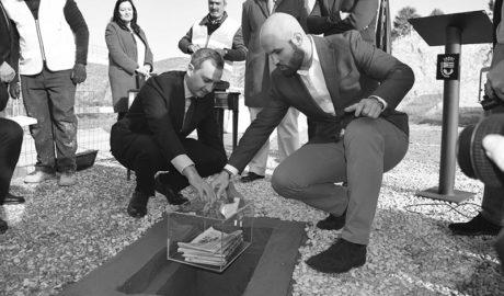Teulada pone la primera piedra de la que será una gran ciudad deportiva