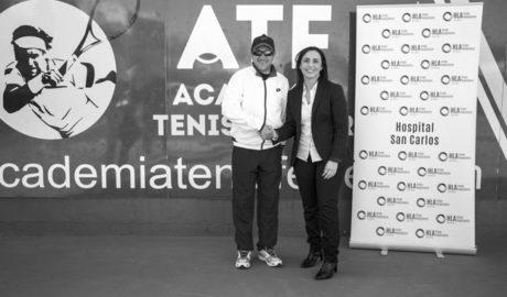 Hospital HLA San Carlos renova l'acord amb la Ferrer Tennis Academy