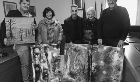 Arte para nunca olvidar el incendio que en 2016 desoló Xàbia y Benitatxell
