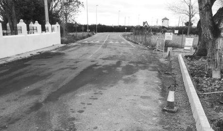 Ondara acondiciona la entrada de Pamis con la obra de la plaza y el nuevo asfaltado