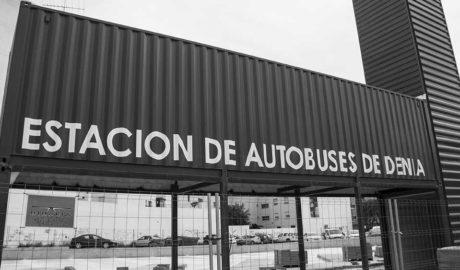Dénia tendrá que asumir un sobrecoste de 25.000 euros en las obras de la estación de autobuses