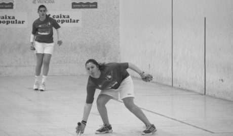 La pilotaria Fanni de Beniarbeig, campeona autonómica de raspall femenino sub-23