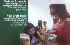 Taller de artesanía para niñ@s en la Feria de Artesanía -Xàbia- @ Xàbia Port