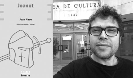 El benisser Joan Nave presenta l'obra 'Joanot' per celebrar el Dia Internacional de la Llengua Materna