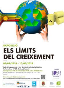 Exposición: 'Los límites del crecimiento' -Benissa- @ Seu Universitària de Benissa
