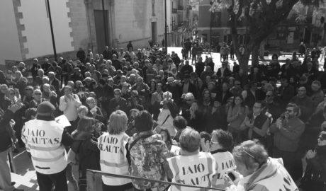 Més de 600 persones a Dénia i Pego 'trenquen' amb Rajoy per les pensions indignes
