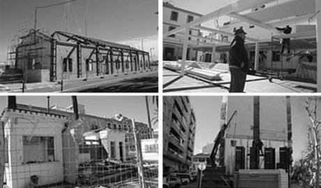 Postals de la façana portuària de Dénia en transformació