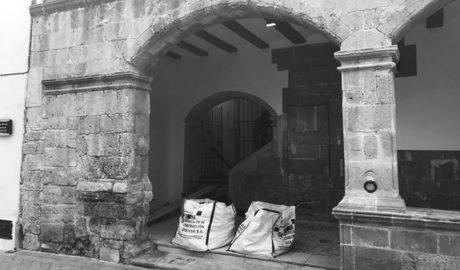 Las obras de la Sala del Consell de Benissa sacan a la luz restos arqueológicos del edificio original