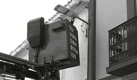 Los polígonos de la Marina Alta instalan farolas led y cámaras de seguridad conectadas con la policía