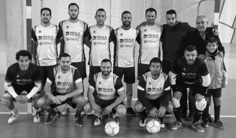 Seguros Reale gana la primera fase de la liga de fútbol sala de Acydma
