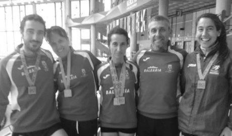 Lluvia de medallas para el Baleària-Diànium en el Autonómico de Atletismo Veteranos
