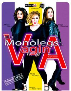 """Teatre: """"Monòlegs de la vagina"""" per Desheretats Teatre. Acte del 8 de Març -Dénia- @ Teatre Auditori del Centre Social, Dénia"""