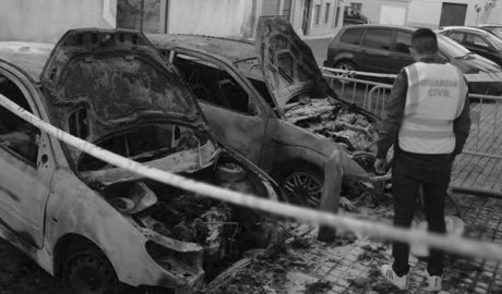 Detenido en Pedreguer el autor del incendio de tres vehículos en Ondara