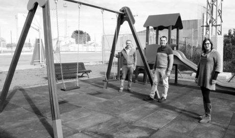 Ondara estrena un nuevo parque infantil en el polideportivo
