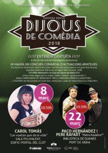 'Dijous Comèdia': 'Habra Kadabra', humor y magia por Paco Hernández y Pere Rafart -Xàbia- @ Biblioteca de Duanes, Xàbia
